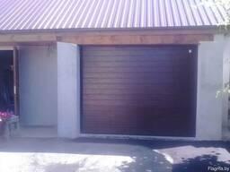 Ремонт, продажа и установка секционных ворот, роллет