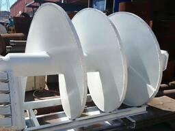 Ремонт шнеков для химической строительной промышленности