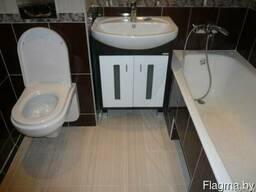 Ремонт ванной комнаты и туалета в Могилёве