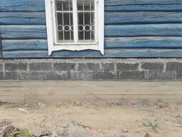 Ремонт , замена фундамента, подъем дома.