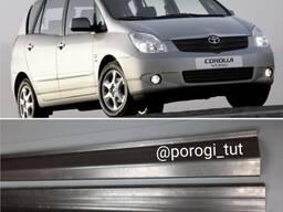 Ремонтные пороги для Toyota Corolla Verso 2003