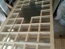 Решетка деревянная для террасы пергола