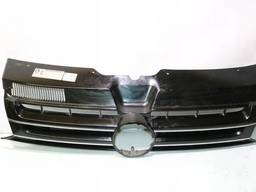 Решетка радиатора черная+молдинг хром 11/09- Фольксваген. ..