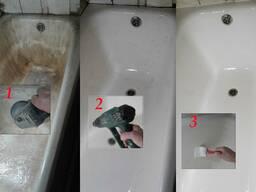 Реставрация ванн в Гомеле методом налива