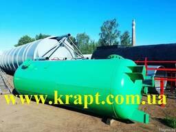 Резервуары стальные горизонтальные РГС