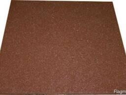 Резиновая плитка 500х500х10мм