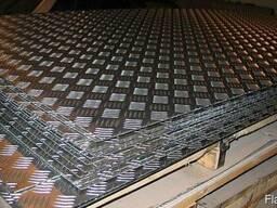 Алюминий рифленый 1.5мм 0.5мм рифление. Доставка по РБ