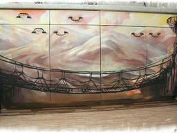 Рисунки на мебели - фото 2