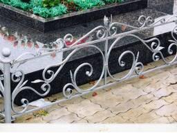 Ритуальные кованые ограды