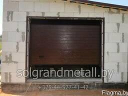 Роллетные гаражные ворота Алютех под заказ в Солигорске