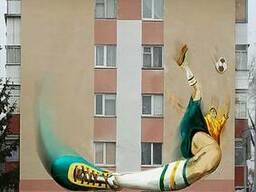 Роспись торцевых фасадов жилых домов - фото 5