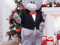 Ростовая кукла мишка Тедди на свадьбу, день рождения, юбилей