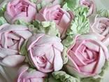 Розы из зефира - фото 2