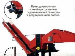Рубильная машина ВОМ с конвейером, дробилка, измельчитель