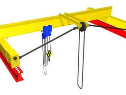 Ручные кран-балки , однобалочные мостовые краны 1т. ..