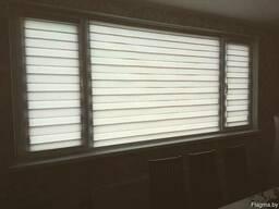 Рулонные шторы, шторы день-ночь