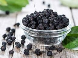 Рябина черноплодная плоды коробка 5кг цена 120 рублей