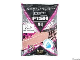 Рыболовная прикормка Papa Fish лещ красный (холодная вода)