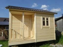 Садовый домик СД01 (3х4 метра) с террасой
