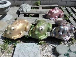 Садовые скульптуры и фигуры из бетона