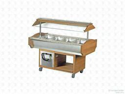 Салат-бар Vortmax мод. SB 4C (Walnut)