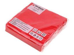 Салфетки бумажные PRO Colour, 25 шт. , красные, Perfecto Linea, арт.66-001270 (Беларусь)