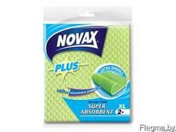 """Салфетки влаговпитывающие XL 2шт NV Plus """"NOVAX"""""""
