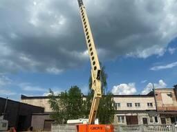 Самоходная автовышка 21 метр