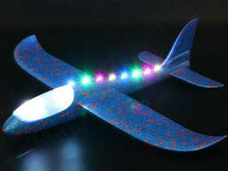 Самолет планер светящийся