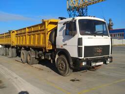 Самосвал МАЗ 5516 08-236 с прицепом МАЗ 8561