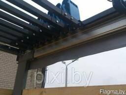 Сдвижная крыша на прицеп, полуприцеп, грузовой автомобиль.