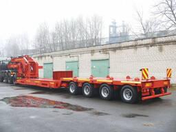 Седельный тягач МЗКТ-7401 с полуприцепом МЗКТ-820100
