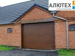 Секционные гаражные ворота Alutech Classic S-гофр