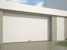 Секционные гаражные ворота RSD01. Монтаж и сервис