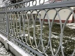Забор чугунный