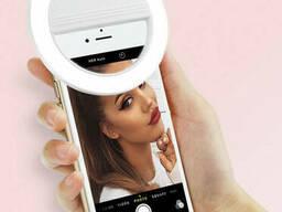 Селфи-кольцо Selfie Ring Light для телефона