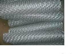 Сетка рабица оцикованная1х10х1.6мм