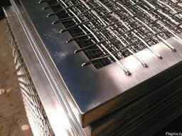 Сетки для копчения, противень из нержавеющей стали
