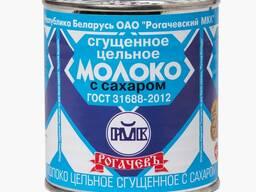 Сгущенку белорусских производителей.