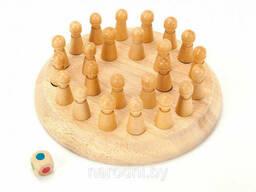 Шахматы детские для тренировки памяти Мнемоники