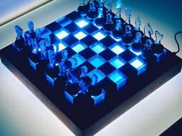 Шахматы, шашки, нарды, домино ручной работы