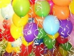 Шарики и шары с гелием к любому празднику !!!