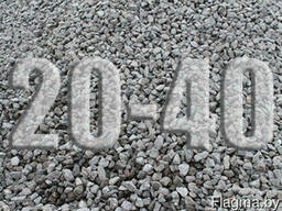 Щебень 20-40