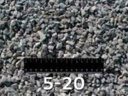 Щебень гранитный ф 5-20 мм
