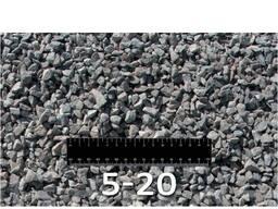Щебень гранитный 5-20, 20-40, 40-70.