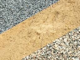 Гравий песок пгс щебень строительные смеси с3 с4 с5 с11 с12