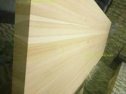 Щиты сорт Экстра из лиственницы 40х600-1000х2000