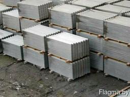 Шифер 8-волновой серый 1750х1130 (РБ)