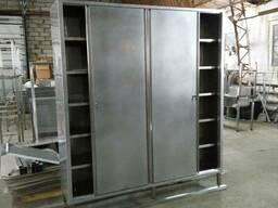 Шкаф из нержавеющей стали (любые размеры)