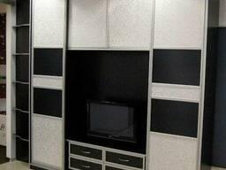 Шкафы-купе, встроенные шкафы-купе, гардеробные и др.